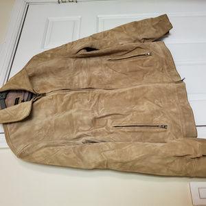 Republic Banana Real Leather Jacker